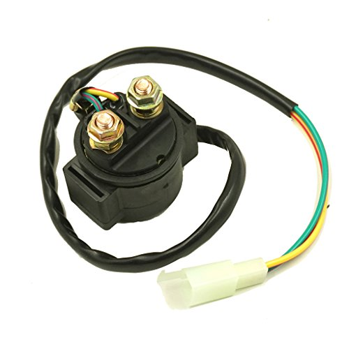 Glixal ATMT1-138 Starter Relay Solenoid 139QMB 157QMJ Motor GY6 50cc 125cc 150cc Chinese Scooter Moped ATV (18