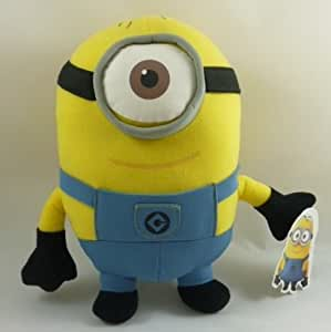 9 Inch 'Despicable Me 2' The Movie 3D One Eye Minion Plush ...