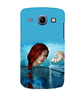 printtech Graphic Girl Underwater Back Case Cover for Samsung Galaxy J2 / Samsung Galaxy J2 J200F