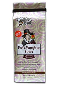 The Coffee Fool French Press, Fool's Decaf Pumpkin Spice, 12 Ounce by The Coffee Fool