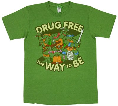  : Teenage Mutant Ninja Turtles - Drug Free Soft T-Shirt