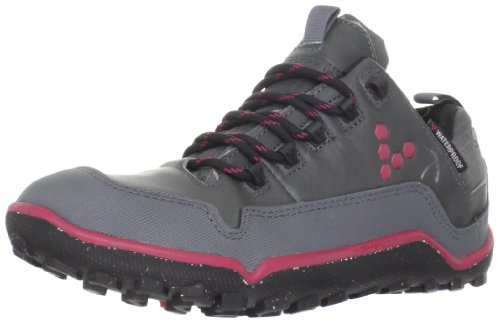 VivoBarefoot Lady Off Road Mid-Top Pull-Up Leather Walking Shoes - 6