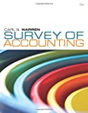 img - for Survey of Accounting (Available Titles Cengagenow) book / textbook / text book