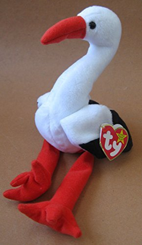 TY Beanie Babies Stilts the Stork Plush Toy Stuffed Animal by G120466019