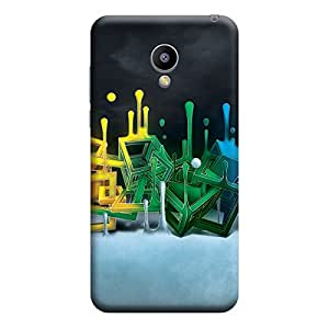 iCover Premium Printed Mobile Back Case Cover With Full protection For Meizu M2 (Designer Case)