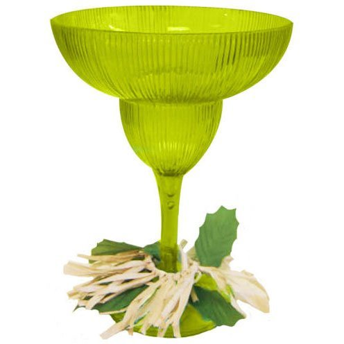 Amscan International Glass Margarita Luau Hawaiian