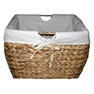 Seagrass Natural File Basket with Liner