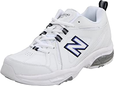 New Balance Women's WX608V3 Cross-Training Shoe,White/Navy,5 D US