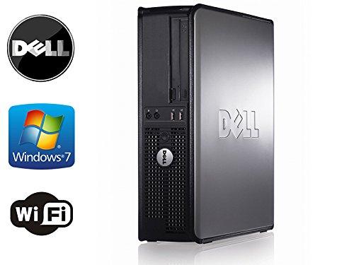 Dell Optiplex 360 Desktop, *New* 500Gb Hard Drive, Dual Monitor Hook- Up, Wifi, Windows 7 Home Premium 32-Bit, Intel Core 2 Quad 2.4Ghz Processor With 8Mb Of Cache, 4Gb Of Ddr2 Memory, Dvd/Cd-Rw