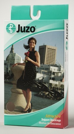 Juzo Attractive Pantyhose 15-20mmHg Closed Toe, 2, Cinnamon by Juzo jetzt bestellen