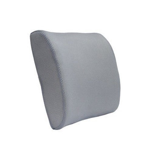 Lowest Prices! Breathable Mesh Surface Car Auto Lumbar Support Home Office Seat Cushion Pillow (Grey...