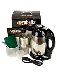 Soyabella SB-132 Soymilk Maker w/ Stainless Lid & Tofu Kit