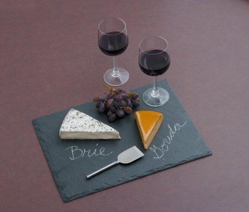 J.K. Adams 16-Inch-by-12-Inch Slate Cheese Tray