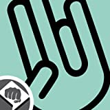 The Shocker Hand Aufkleber Decal Sticker DUB 15cm schwarz oder weiß NEU (weiß außenklebend)