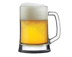 Pasabahce Pub Beer Mug, 500 ml, Set of 2