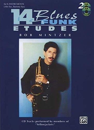 14 Blues and Funk Etudes: For 'E Flat' Instruments (Alto Sax, Baritone Sax)
