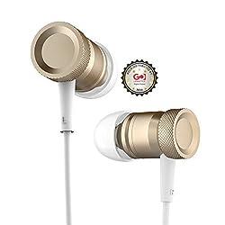 Nakoda ROCK Mula Stereo HIFI cable in-ear Earphone - GOLD