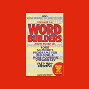 Word Builders: Volumes 1-4 | [Audio University]