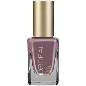 L'Oreal Colour Riche Nail Polish, Greyt Expectation, 0.39 Fluid Ounce