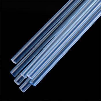 "Plastruct 90253 Rod Round Fluorescent Blue 1/8"" (7)"