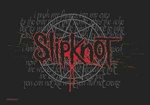 Slipknot Flagge - Splattered - Posterflagge 100% Polyester 110x75 cm