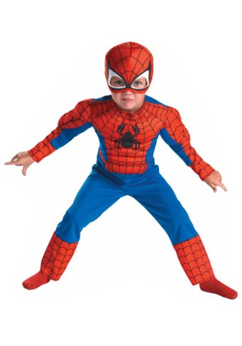 Spiderman Toddler Size 3T-4T RedBlue