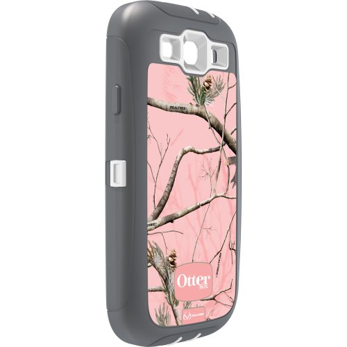 OtterBox Defender Series Case and Holster for Samsung Galaxy S III - Retail Packaging - Realtree Camo - AP Pink