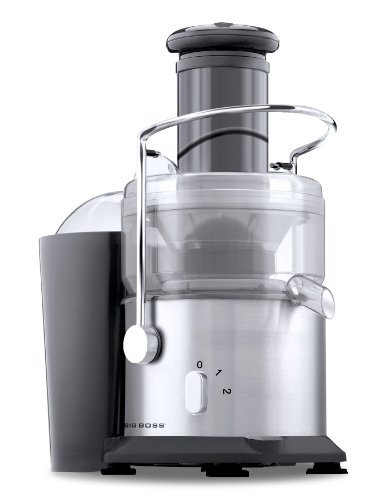 Big Boss 800-Watt Professional Series Juicer 2 Speed Wide Mouth Fruit & Vegetable Juice Extractor-Stainless Steel by Big Boss (Big Boss 800 Watt Juicer compare prices)