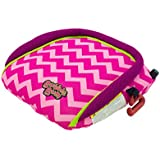 BubbleBum Portable Inflatable Cotton Candy Car Booster Seat - Raspberry Pink