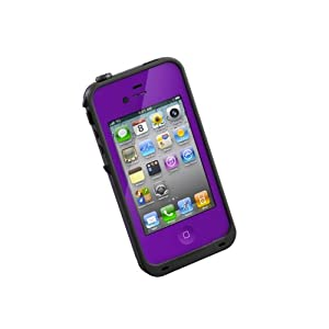 LifeProof Case for iPhone 4/4S - Retail Packaging - Purple