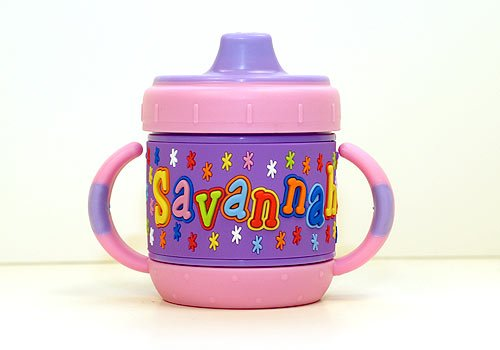 Personalized Sippy Cup: Savannah front-444925
