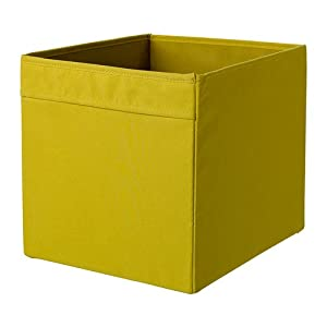 Ikea Drona Box Yellow 33x38x33 Cm Amazon Co Uk