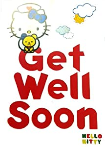 the gallery for gt get well soon hello kitty cards