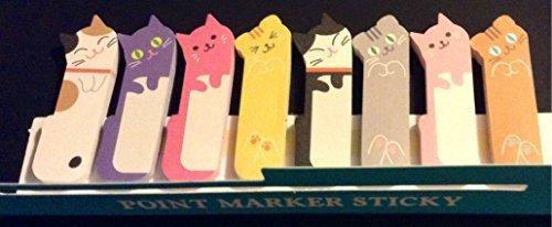 1-x-240-sheets-cute-kitten-kitty-cat-animal-sticker-post-it-bookmark-marker-memo-flags-index-tab-sti