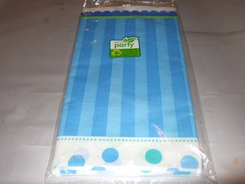 Amscan Sweet Little Cupcake Boy Paper Table Cover