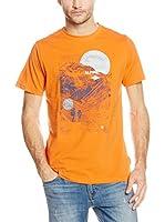 Alpine Pro Camiseta Manga Corta AMIT (Naranja)