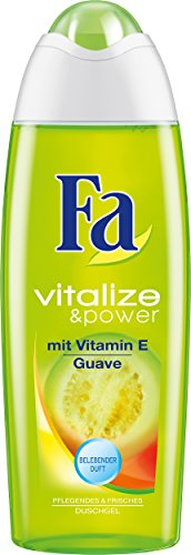 Fa Vitalize & Power Duschcreme, Vitamin E & Guave, 3er Pack (3 x 250 ml)