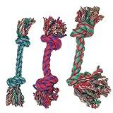 Bild: Hundespielzeug Baumwollknoten BUNT 43cm 507314
