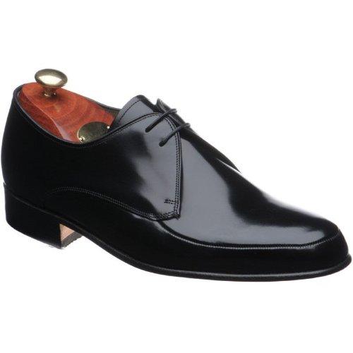 barker shoes style chesham black hi shine