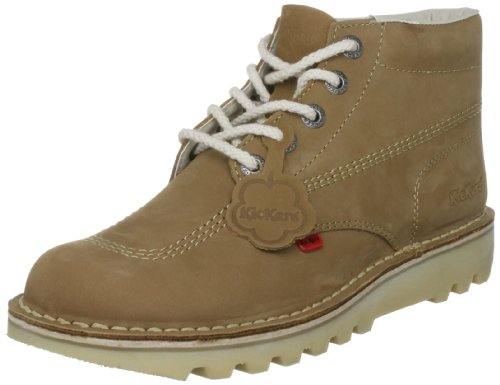 Kickers - Kick Hi M Core, Polacchine uomo, color D'Oro (Tan/Natural/Natural), talla 45 EU (10.5 UK)
