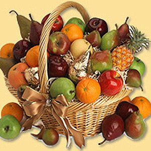 Deluxe Fruit Sensation Gift Basket
