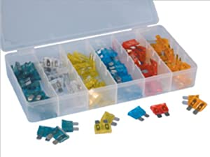 ATD Tools 364 120-Piece Car Fuse Assortment