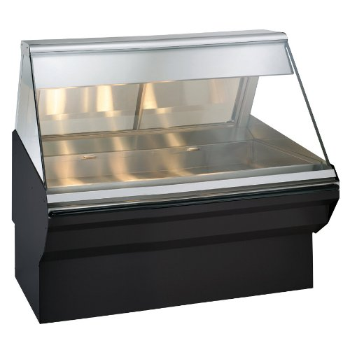 Alto-Shaam Ec2Sys 48 Heated Display Case With Angled Glass And Base - Full Service 48""