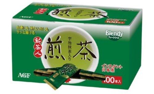AGF ブレンディ 新茶人宇治抹茶入り煎茶スティック 100P