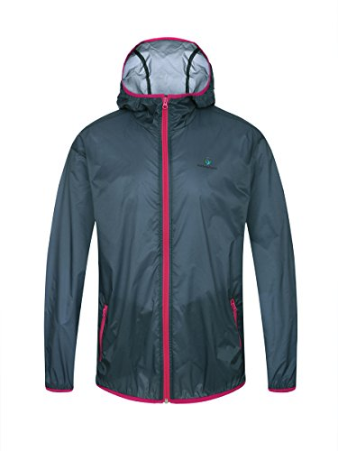 Somewhere Ultra Lightweight Windbreaker, Men's UPF 50+ Quick Dry Jacket