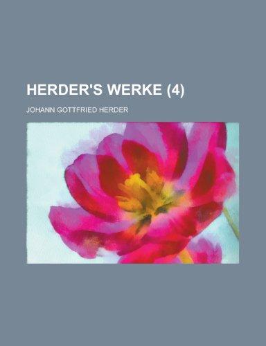 Herder's Werke (4)
