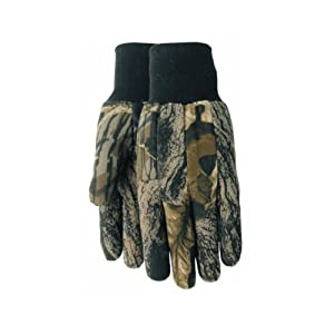Midwest Quality Glove 392MO-LGLOVE Cotton Jersey Camo Glove