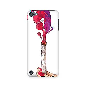 Ebby Glowing Cigarette Premium Printed Case For Apple iPod Touch 5
