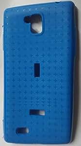 PREMIUM Quality patterned Back Cover For Intex Aqua i5 Mini Sky Blue