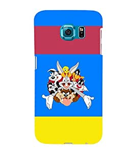 printtech Looney Toons Cartoon Back Case Cover for Samsung Galaxy S6::Samsung Galaxy S6 G920
